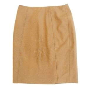 Halogen Skirts - Halogen Tan Career Pencil Skirt